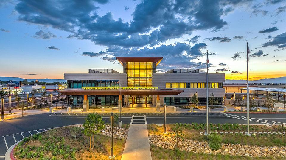 加州兰开斯特高沙漠健康系统多服务流动护理中心.